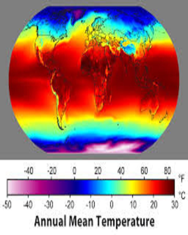 میانگین دما و سنجش ازدور